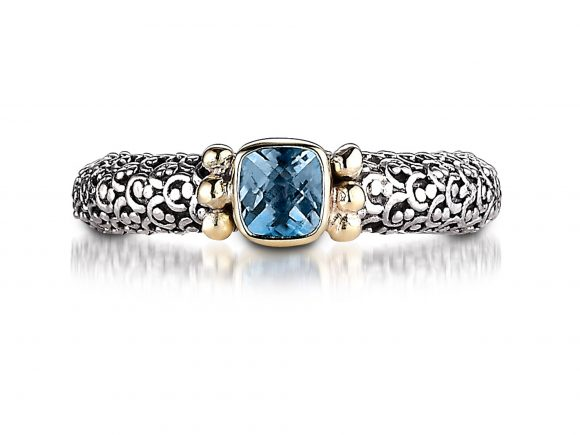 Sara Blaine Ring - Sterling Silver with 18k Gold - 202BT