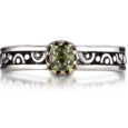 Sara Blaine Ring - Sterling Silver with 18k Gold - 265APD