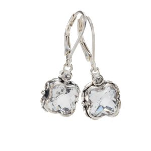 Sara Blaine Earrings - Sterling Silver - 3391XWT