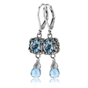 Sara Blaine Earrings - Sterling Silver - 3587BT