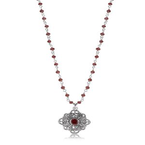 Sara Blaine Necklace - Sterling Silver - 7715G