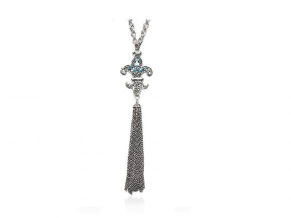 Sara Blaine Necklace - Sterling Silver - 7802BT