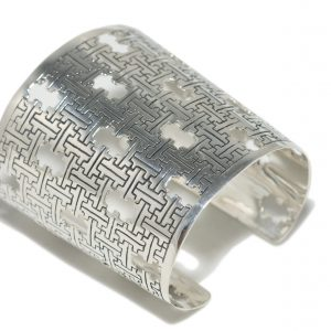 Sterling Silver Statement Cuff Bracelet
