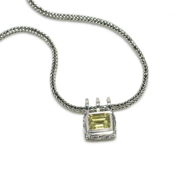 Sterling silver necklace pendant sara blaine jewelry 773 ch7017 5 aloadofball Gallery